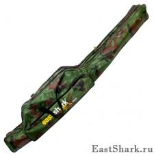 Чехол East Shark камуфлированный 2 секции 1,5 м