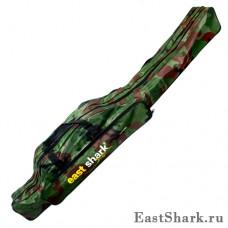 Чехол East Shark камуфлированный 2 секции 1,3 м