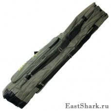 Чехол East Shark 3 секции зелёный 1,3 м