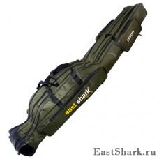 Чехол East Shark 3 секции зелёный 1,5 м