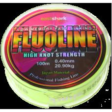 Леска FLUOLINE 0.16 100 м флюоресцент. жёлтая