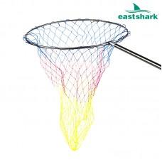 Подсак круглый цветная леска D 600 ручка 1,9