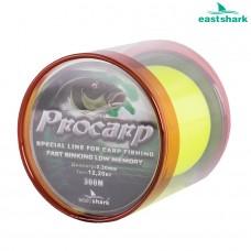 Леска PROCARP желтая 300 м 0,50