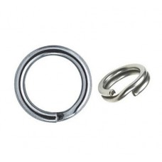 Кольцо заводное №6 (25шт)