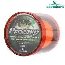 Леска PROCARP 300 м оранжевая 0,30